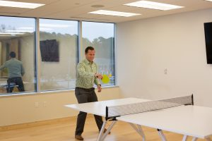 working at greene resources - ping pong