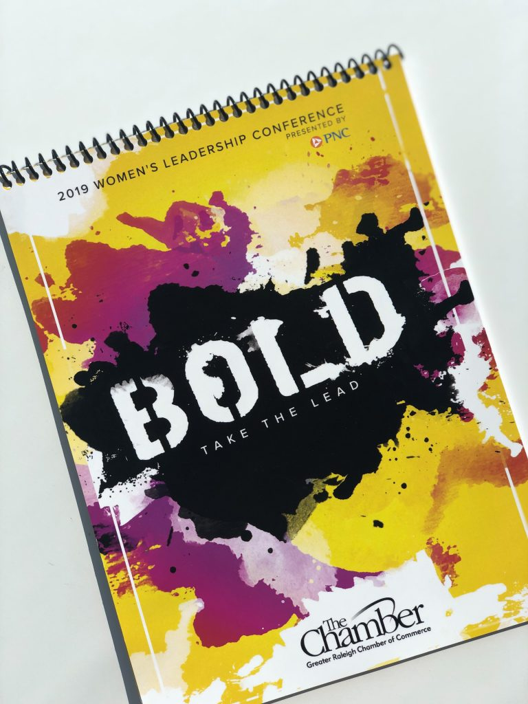 Women's Leadership Conference notebook