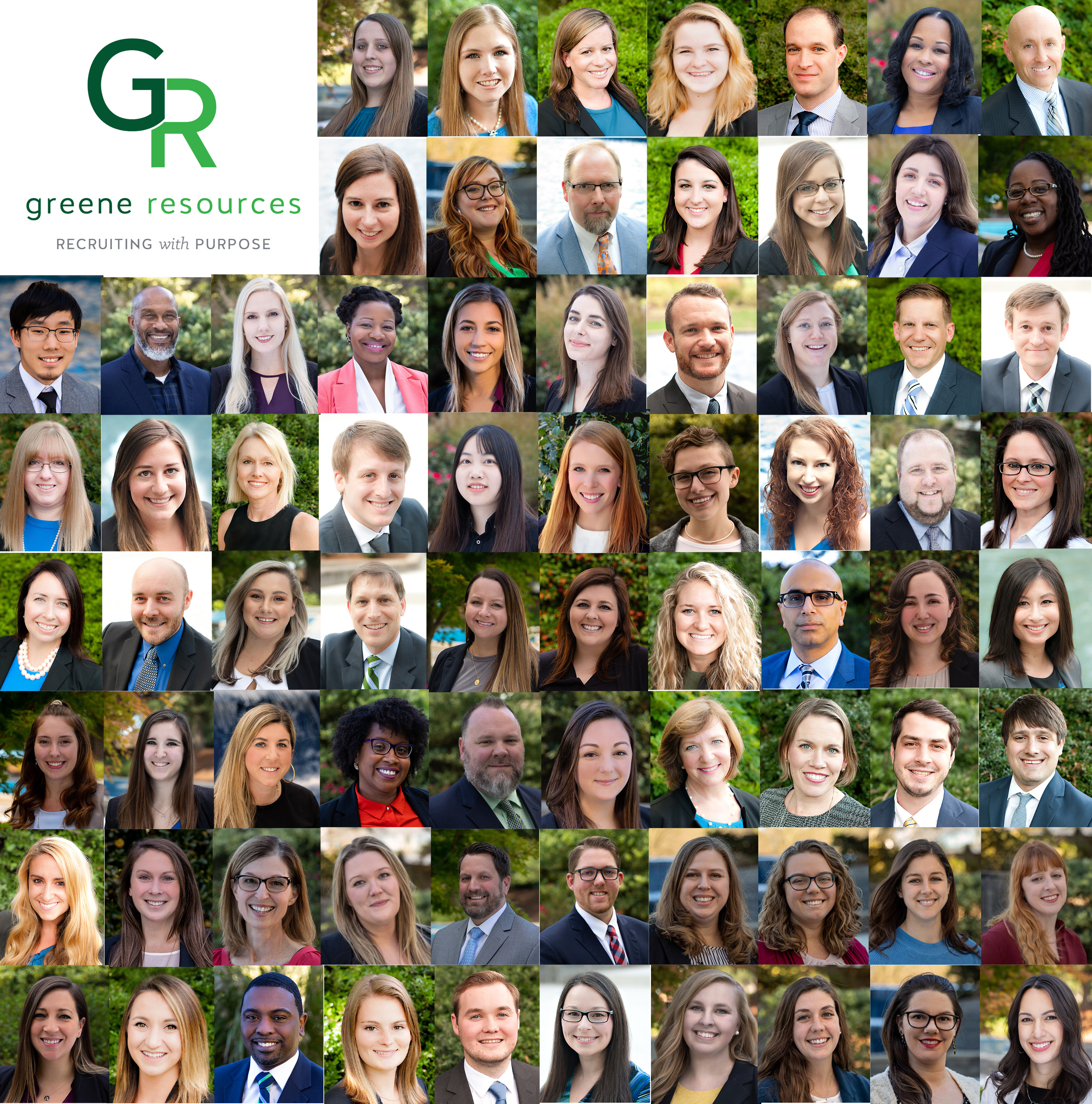 The Greene Team collage of headshots