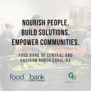 Food Bank of Central and Eastern NC mission statement